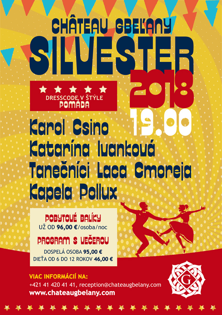 chateau gbelany silvester program 2018 v